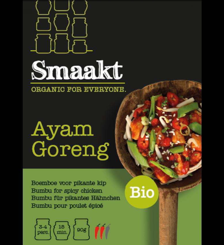 Smaakt wereldkeuken biologisch assortiment