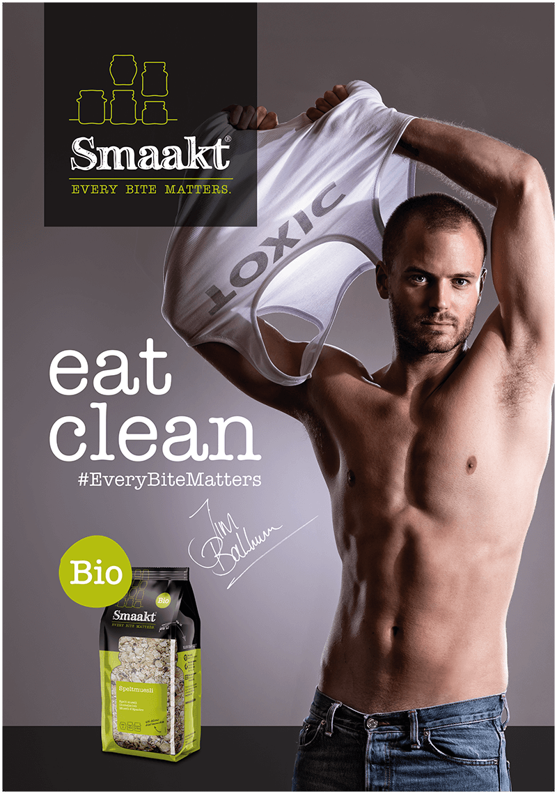 Smaakt Eat Clean Campagne